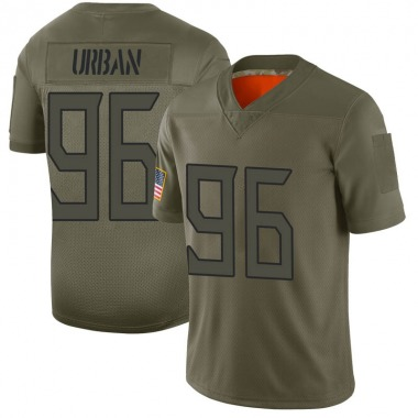 Men's Nike Tennessee Titans Brent Urban 2019 Salute to Service Jersey - Camo Limited