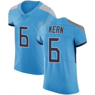 Men's Nike Tennessee Titans Brett Kern Team Color Vapor Untouchable Jersey - Light Blue Elite