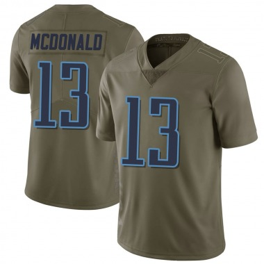 Men's Nike Tennessee Titans Cole McDonald 2017 Salute to Service Jersey - Green Limited