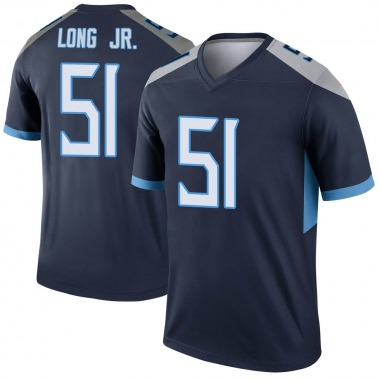 Men's Nike Tennessee Titans David Long Jr. Jersey - Navy Legend