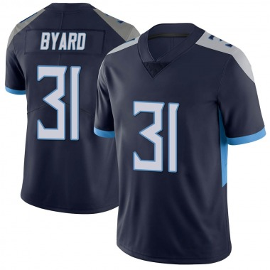 Men's Nike Tennessee Titans Kevin Byard Vapor Untouchable Jersey - Navy Limited