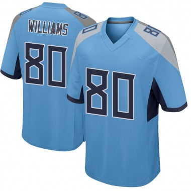Men's Nike Tennessee Titans Kyle Williams Jersey - Light Blue Game