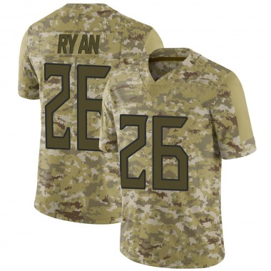 Men's Nike Tennessee Titans Logan Ryan 2018 Salute to Service Jersey - Camo Limited