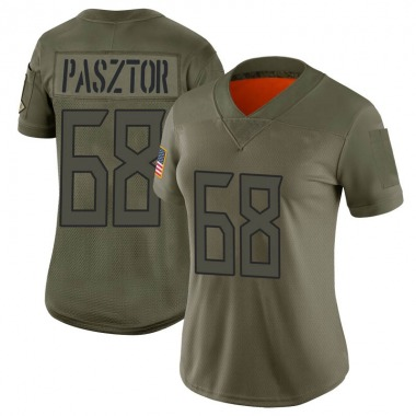 Women's Nike Tennessee Titans Austin Pasztor 2019 Salute to Service Jersey - Camo Limited