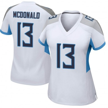 Women's Nike Tennessee Titans Cole McDonald Jersey - White Game