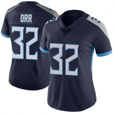 Women's Nike Tennessee Titans Kareem Orr Vapor Untouchable Jersey - Navy Limited