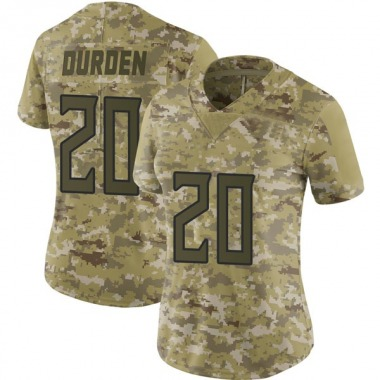 Women's Nike Tennessee Titans Kenneth Durden 2018 Salute to Service Jersey - Camo Limited