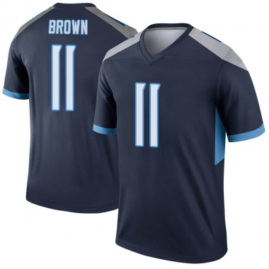 Youth Nike Tennessee Titans A.J. Brown Jersey - Navy Legend