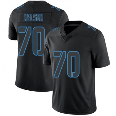 Youth Nike Tennessee Titans Chris Nelson Jersey - Black Impact Limited
