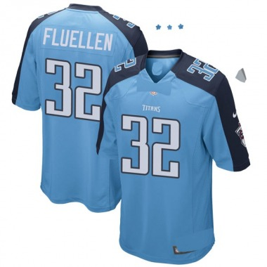 Youth Nike Tennessee Titans David Fluellen Team Color Jersey - Light Blue Game