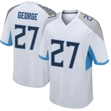 Youth Nike Tennessee Titans Eddie George Jersey - White Game