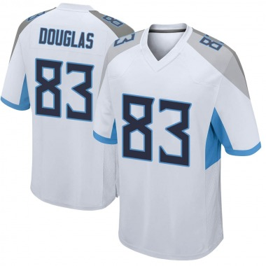 Youth Nike Tennessee Titans Harry Douglas Jersey - White Game