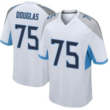 Youth Nike Tennessee Titans Jamil Douglas Jersey - White Game