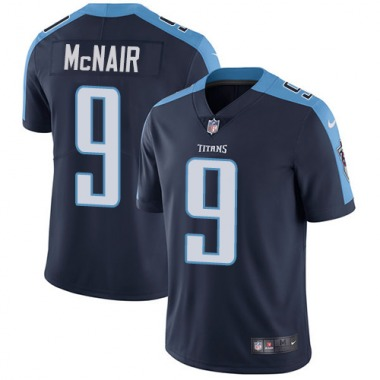 Youth Nike Tennessee Titans Steve McNair Alternate Jersey - Navy Blue Limited