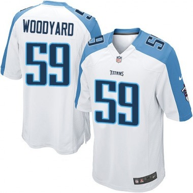 Youth Nike Tennessee Titans Wesley Woodyard Jersey - White Game